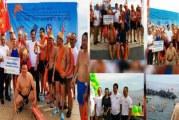 Wagub Kandouw Sapa Turis Tiongkok di Swim Fest 2017