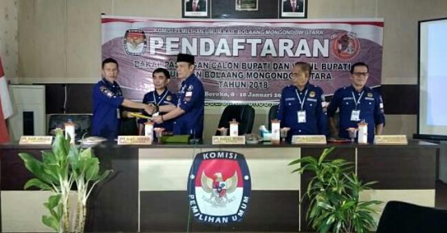 KPU Bolmut Buka Pendaftaran Bupati dan Wakil Bupati