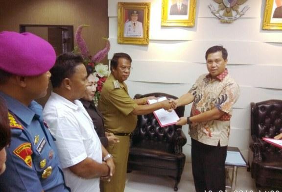 Petrus Tuange Resmi Jabat Plt Bupati Talaud Gantikan Sri Manalip