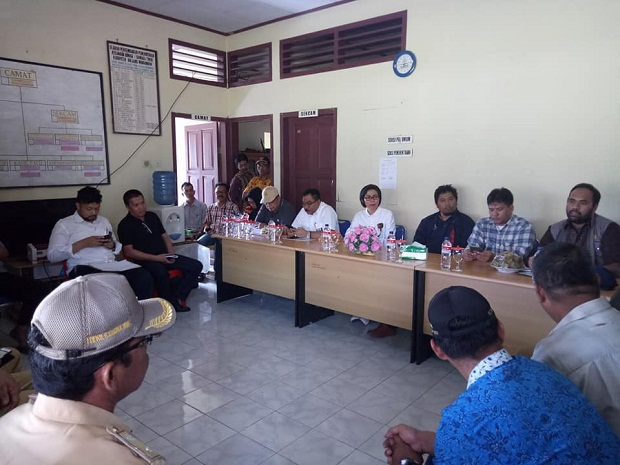 Bupati Bolmong Bersama Kementerian PUPR Tinjau Lokasi Padat Karya