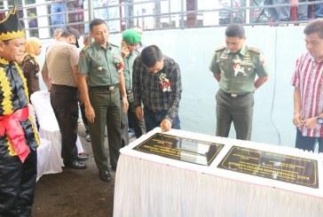 Bupati James Sumendap Resmikan Proyek Fisik Pariwisata dan Kebudayaan Kabupaten Mitra