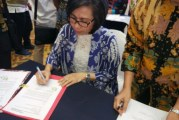 Yasti Tandatangani Bantuan 41 Miliar Untuk 12 Titik Daerah Irigasi