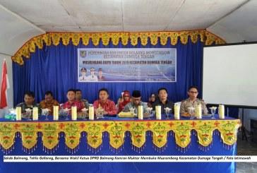 Musrembang Tingkat Kecamatan Di Bolmong Resmi Dimulai