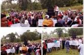 Simpatisan JS Demo DPRD Mitra Minta Plt Bupati Kandoli Diturunkan