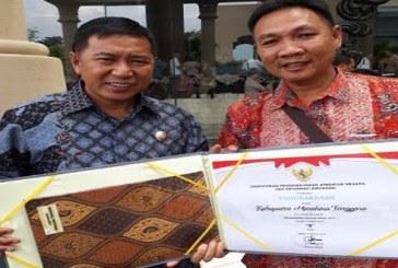 Bupati James Sumendap Terima Hasil LAKIP Kemenpan-RB, Pemkab Mitra Raih Predikat B