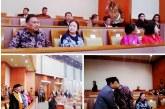 Gubernur Olly bersama Menteri Puan Hadiri Pelantikan Wakil Ketua DPR-RI