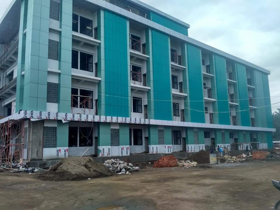 Progres Pembangunan Tower A Dan B RSUD Kotamobagu capai 45 Persen