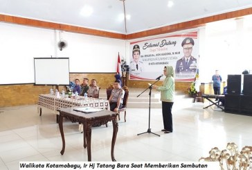 Walikota Kotamobagu Terima Kunjungan Wakapolda Sulut