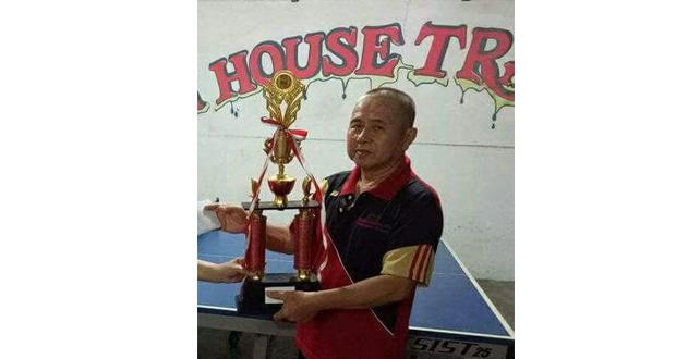 In Memoriam Recky Rompas, Motivator Tenis Meja Sulut