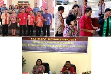 Sekprov Silangen Wakili Gubernur Resmikan Kantor UPTB BP2RD Minut
