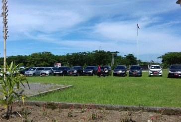 Sebelum Rolling Kendaraan Pejabat Pemkab Bolmong Ditarik
