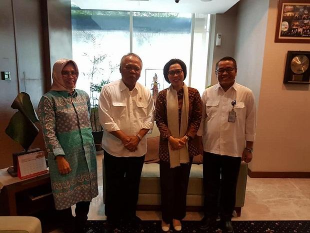 Pastikan Usulan Terealisasi, Bupati Bolmong Bersama Kadis PU Temui Menteri PUPR