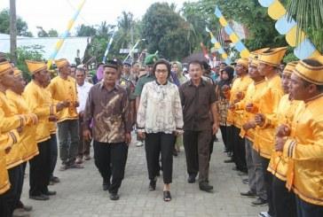 Bupati Bolmong Hadiri Perayaan Tulude Desa Pangi