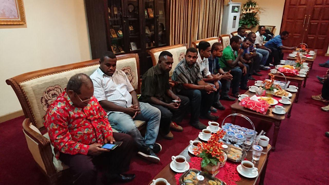 Peduli Warga Papua, OD-SK Serahkan Lahan Seluas 5000 Meter Persegi