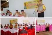 Kapolres Winardy Brabowo Tatap Muka Bersama Masyarakat Belang dan Posumen