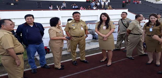 OD-SK Pantau Lokasi Selebrasi Paskah 2018 di Tondano