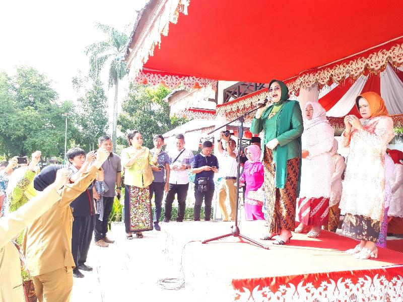 Perwakilan Perempuan Se Kotamobagu Menangis Di Peringatan Hari Kartini Ke 139