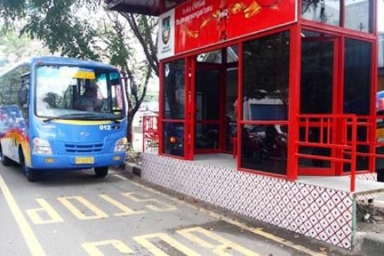 Operasikan 5 BRT, Pemkot Kotamobagu Bangun 22 Shelter Dengan Anggaran 1,4 Miliar