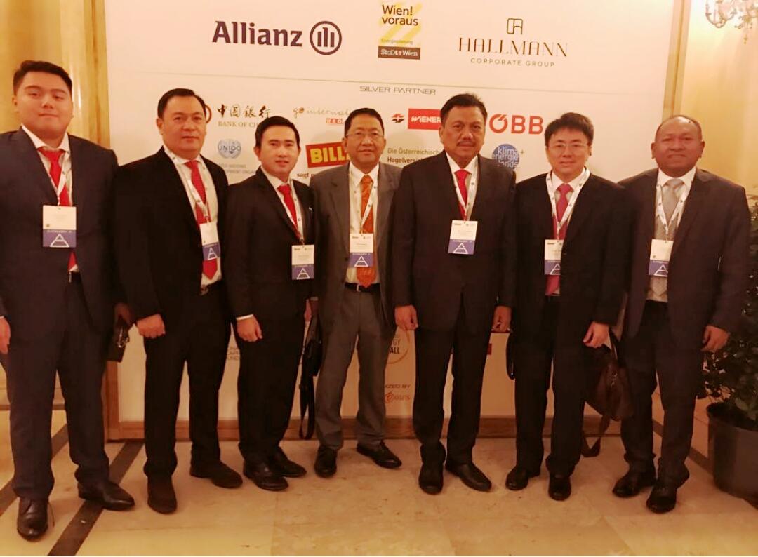 Gubernur Olly Dondokambey Hadiri R20 Austrian World Summit