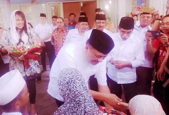 Safari Ramadhan di Boltim, Gubernur Olly Ajak Masyarakat Jaga Kerukunan Bersama