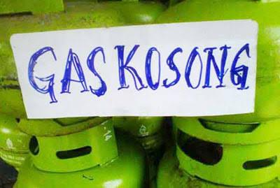 Harga LPG 3 Kg Tembus 35 Ribu, Kabag Ekonomi Sulit Ditemui