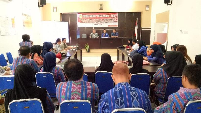 Majukan UKM dan IKM di Kotamobagu, Pemkot Gelar FGD