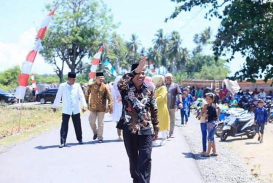 Bupati Hadiri Halal Bi Halal Dan Wisata Dakwah di Desa Biontong I