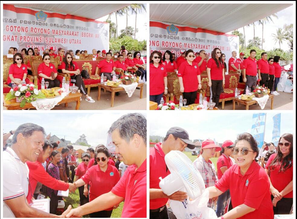 Wagub Kandouw Hadiri BBGRM Tingkat Provinsi di Langowan