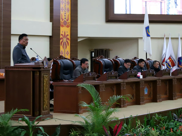 Ranperda Disetujui, Gubernur Olly Dondokambey Apresiasi Dewan