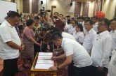 Gubernur Olly Lantik 37 Pejabat Lingkup Pemprov Sulut