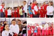 Gubernur Olly Dampingi Menko Puan Tinjau Persiapan Atlet Tinju Sulut dan Sentra UKM