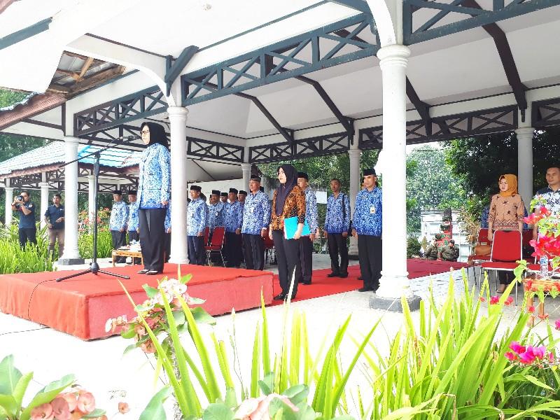 Pimpin Apel Korpri, Tatong Ingatkan Panca Prasetia Korpri