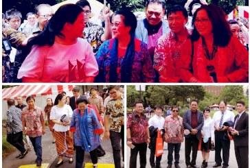 Bupati Sumendap Dampingi Mantan Presiden Megawati, Menteri Puan dan Gubernur Olly ke Jepang
