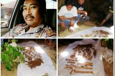 Heboh.! Warga Desa Watuliney Temukan Rangka Tulang Belulang Manusia di Perkebunan
