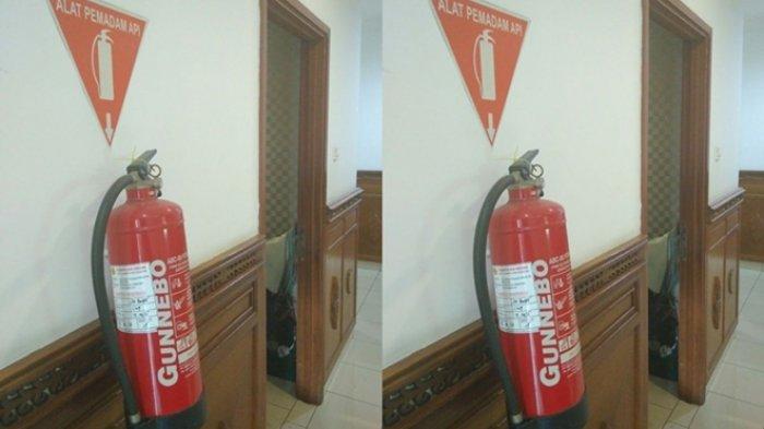 Pemkot Wajibkan Tempat Usaha Miliki Tabung Pemadam Api