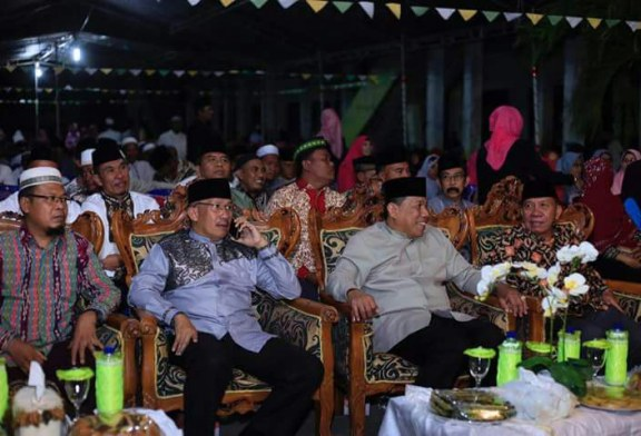 Bupati Bolmut Hadiri Halal Bi Halal Alkhairat Bintauna