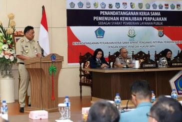 Sinergi dengan Pemerintah Pusat, Gubernur Olly Dukung Optimalisasi Penerimaan Pajak