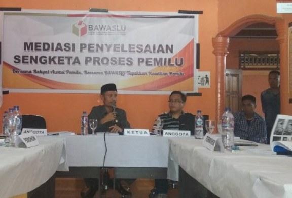 Bawaslu Bolmut Gelar Rapat Pleno Mediasi Penyelesaian Sengketa Pemilu Tahun 2019