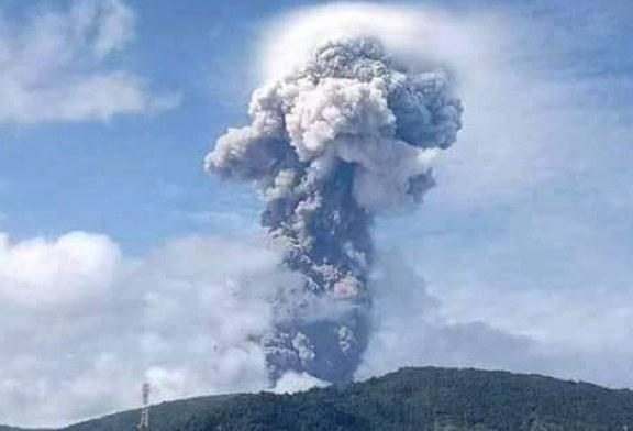 Gunung Soputan Kembali Beraktifitas Aktif, Bupati Imbau Warga Tetap Waspada