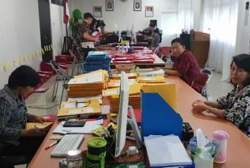 Sekprov Silangen Pantau Sekretariat Penerimaan CPNS Provinsi Sulut