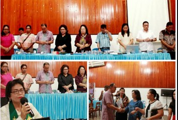 Bupati ROR bersama Isteri Hadiri Sidang BPMJ GMIM Bukit Moria Rike