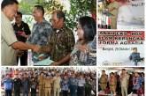 Gubernur Olly Serahkan 515 Sertifikat Tanah di Mitra, Optimis Sektor Pertanian Terus Berkembang