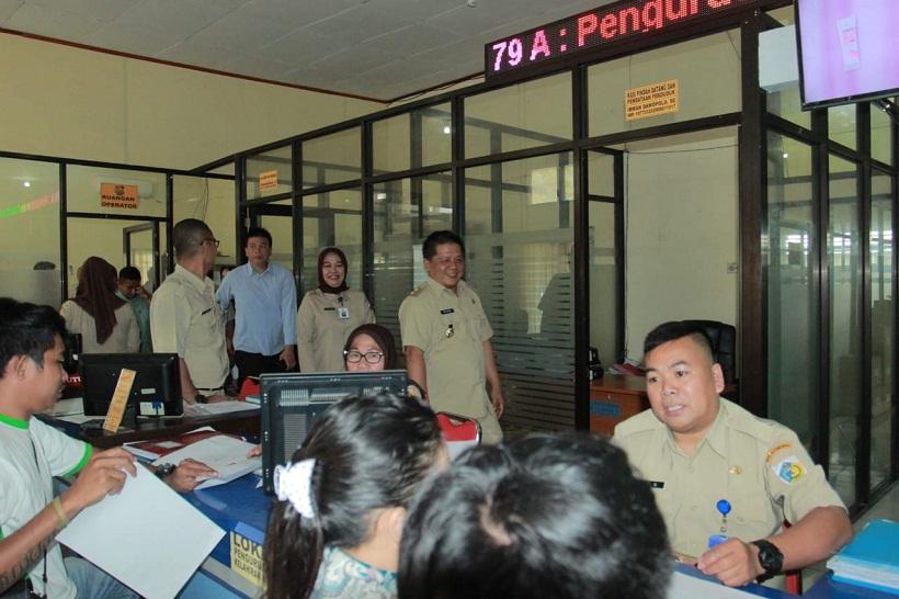 Wakil Walikota Pantau Pelayanan Di SKPD