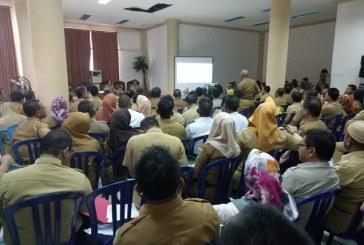 Gelar Rapat Evaluasi Bupati Minta Pimpinan SKPD Berinovasi Dan Menciptakan Sumber PAD