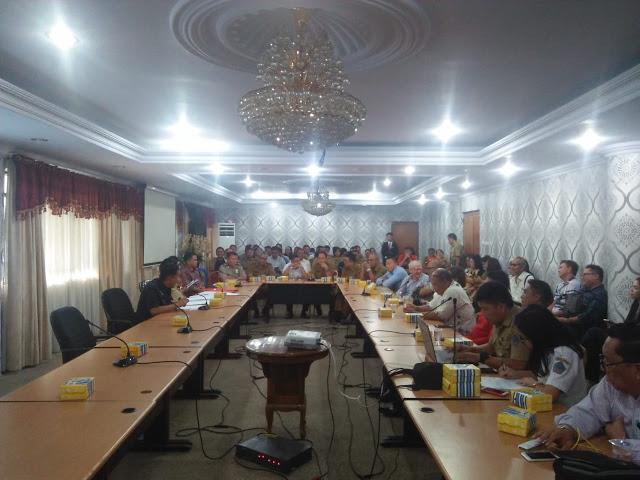 Sekprov Silangen Pimpin Rapat Persiapan Pelaksanaan Festival Desember 2018