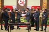 Gubernur Olly Apresiasi DPRD Sulut Atas Disetujuinya Ranperda APBD 2019