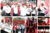 Fun Walk 'Olly Pe Tamang' Meriah, Dibanjiri Door Prize