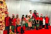 Wagub Kandouw Bersama Isteri Rayakan Pra Natal Bersama ASM GMIM Eben Haezer dan Yayasan Kanker Estella