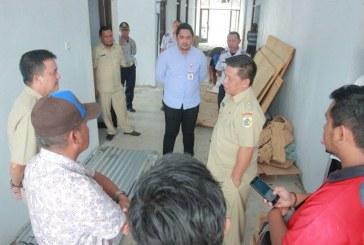 Tinjau Pembangunan RSUD Kotamobagu, Nayodo Berharap Bisa Memberikan Peningkatan Pelayanan