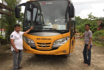 Menunggu Hampir 1 Tahun, Pemkab Bolmong Hanya Terima Satu Unit Bantuan Bus